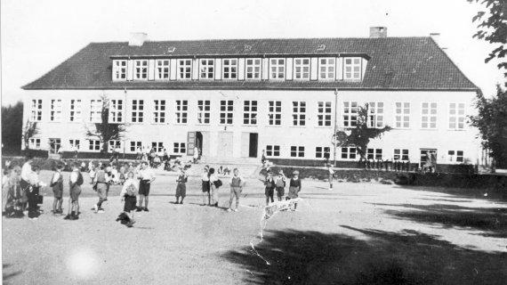 Frikvarter Gl. Holte Skole 1923