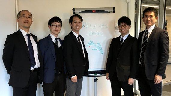 Japansk delegation
