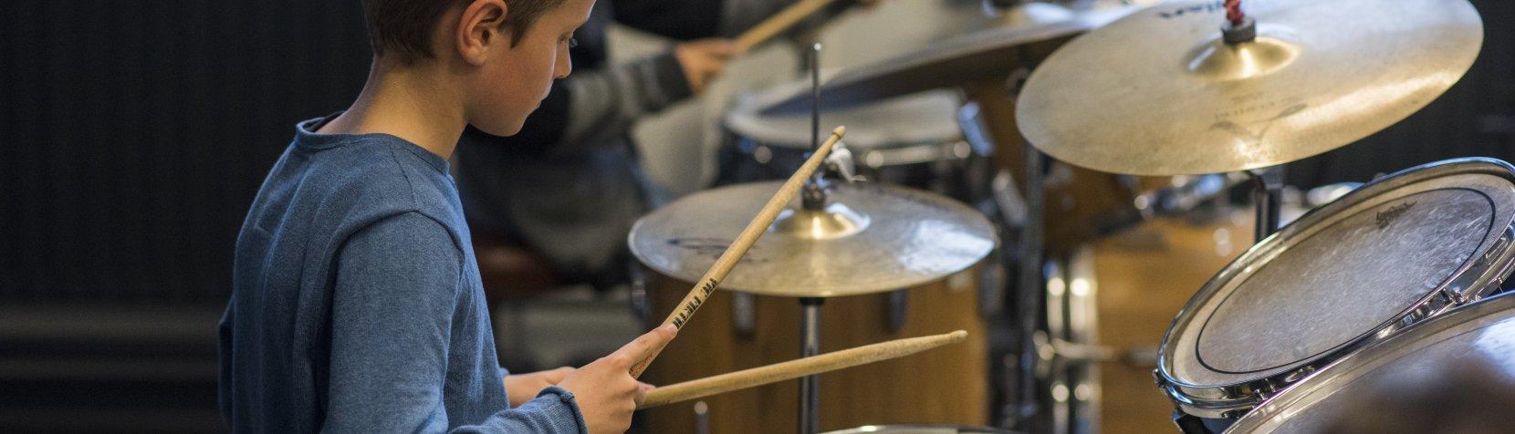 Musikskolen trommer