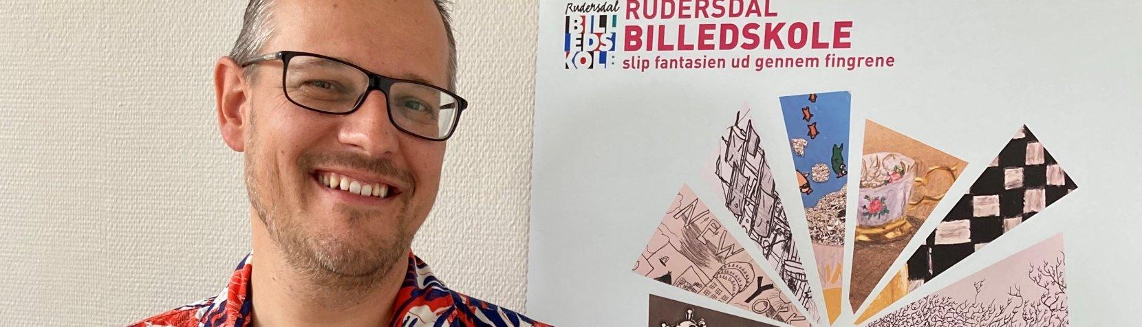 Henrik Lilleholt Smidt, leder af Rudersdal Musikskole og Billedskole