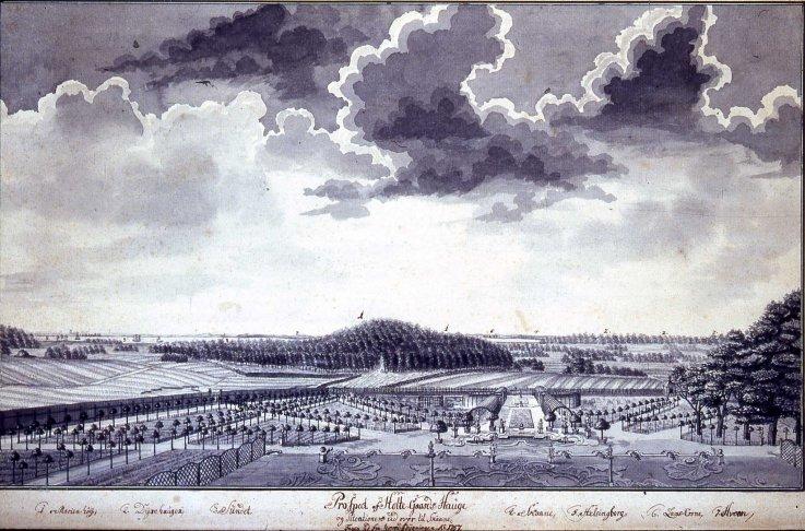 Barokhaven Gl. Holtegaard 1757