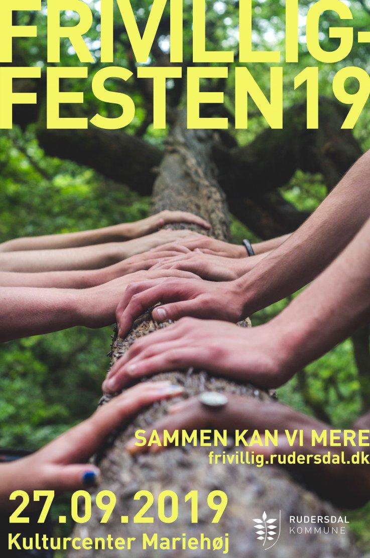 Frivilligfest 2019 flyer