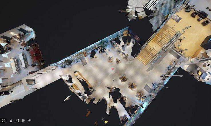 Oversigt over Mariehøj på virtuel tour